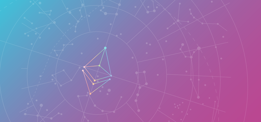Ethereum Logo Colorful Header