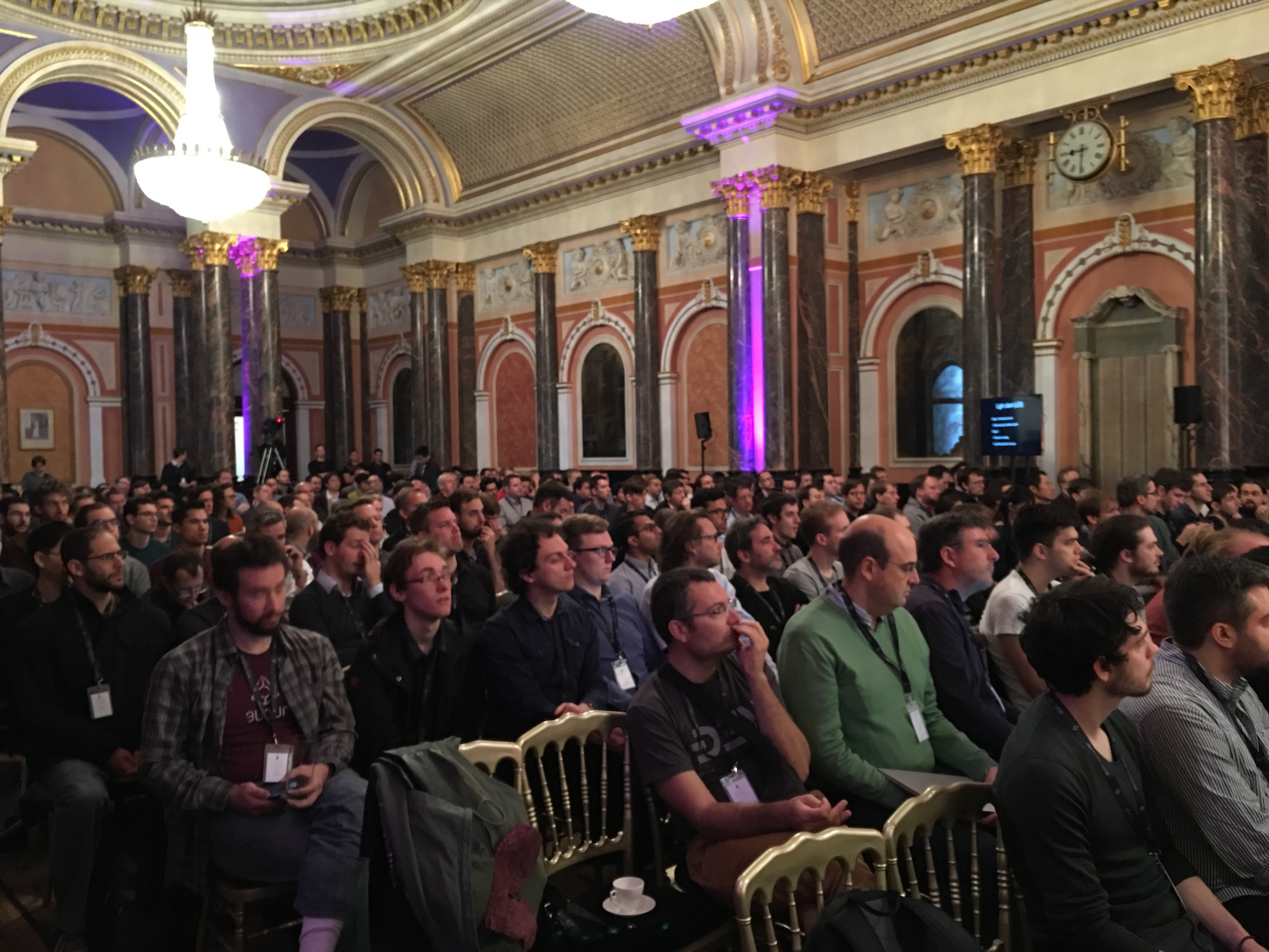Photo of crowd at DEVCON1